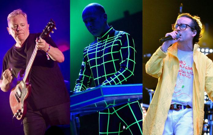 New Order, Kraftwerk, Hot Chip