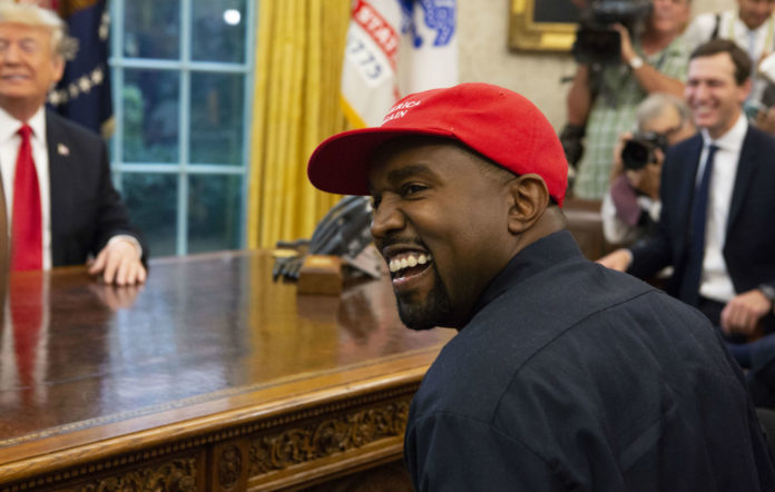 Kanye West 2024 presidential campaign trump