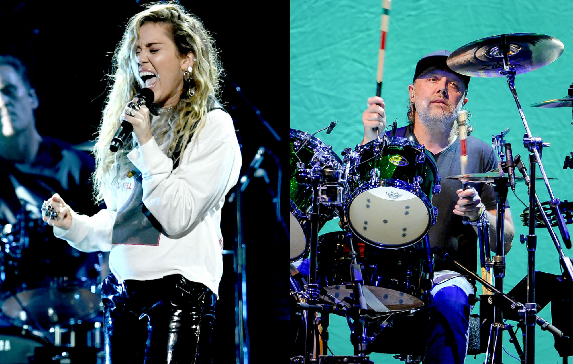 """Metallica's Lars Ulrich was """"stunned"""" by Miley Cyrus' performance at Chris Cornell tribute concert"""