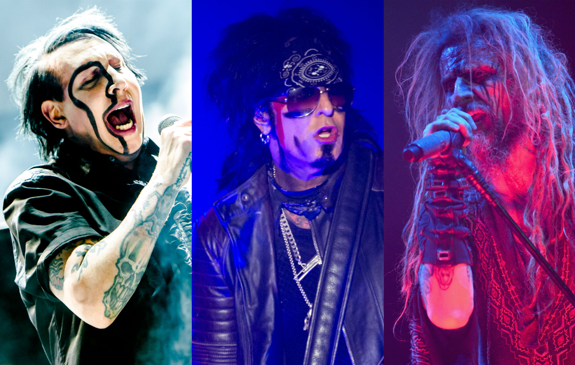 Marilyn Manson nikki sixx rob zombie cover beatles