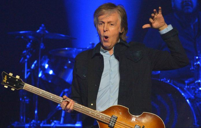 Paul McCartney auto tune get enough