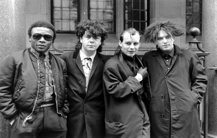 The Cure - Andy Anderson, Lol Tolhurst, Paul