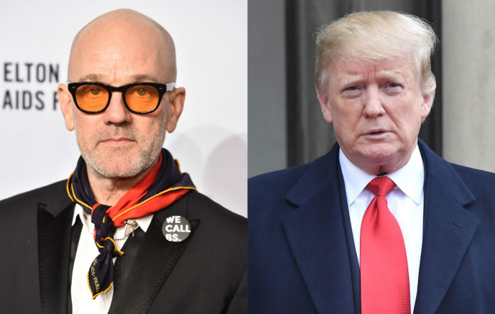 """R.E.M respond to Donald's Trump use of their track """"Everybody Hurts"""