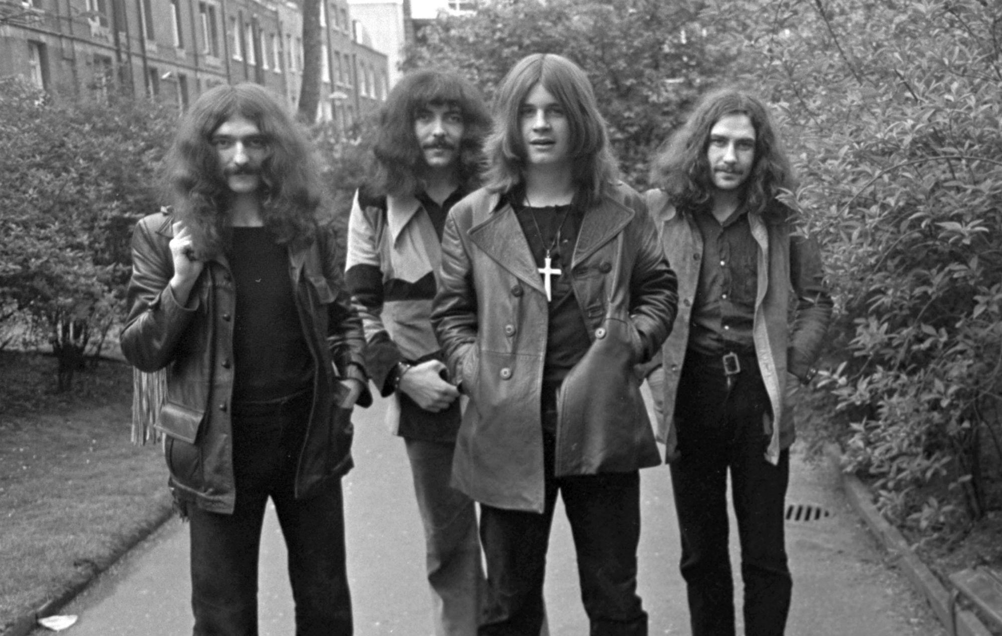Black Sabbath bench unveiled in Birmingham