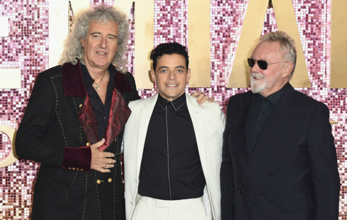 Brian May Queen performance Oscars