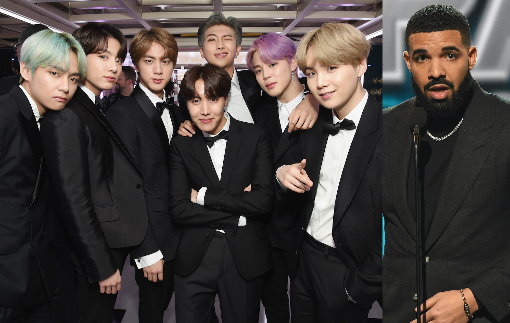 the biggest talking points of the 2019 grammys from bts making history to drake s interrupted speech the biggest talking points of the 2019