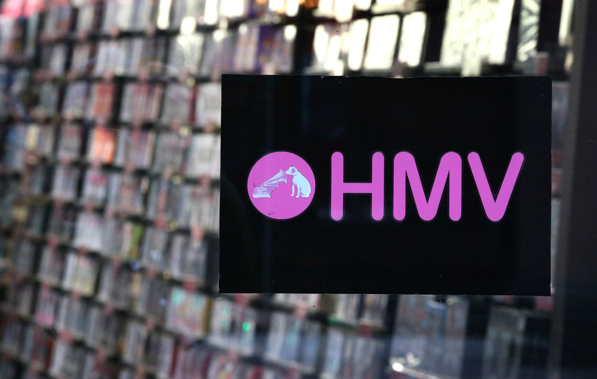 HMV saved 100 stores