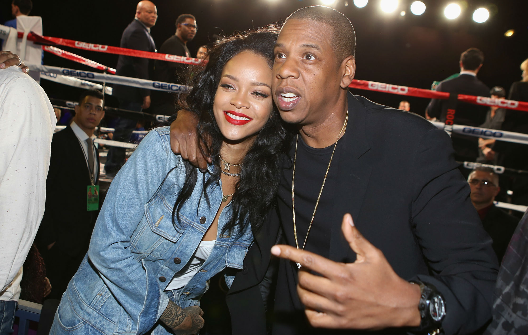 Umbrella 2 Jay Z And Rihanna Spark Collaboration Rumours After Meeting In Los Angeles