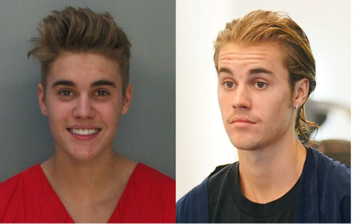 Justin Bieber past troubles