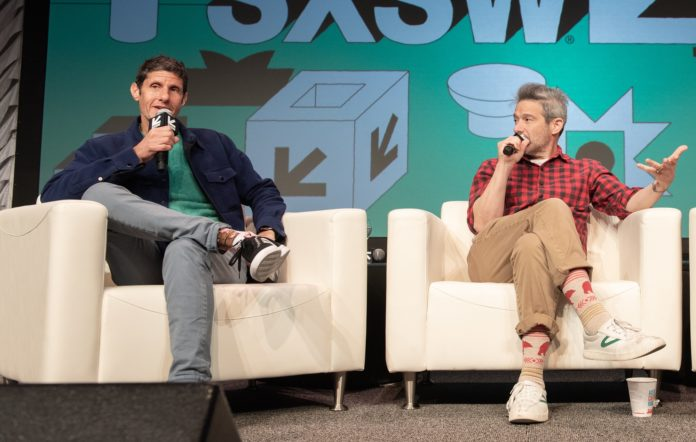 Michael Diamond and Adam Horowitz of the Beastie Boys