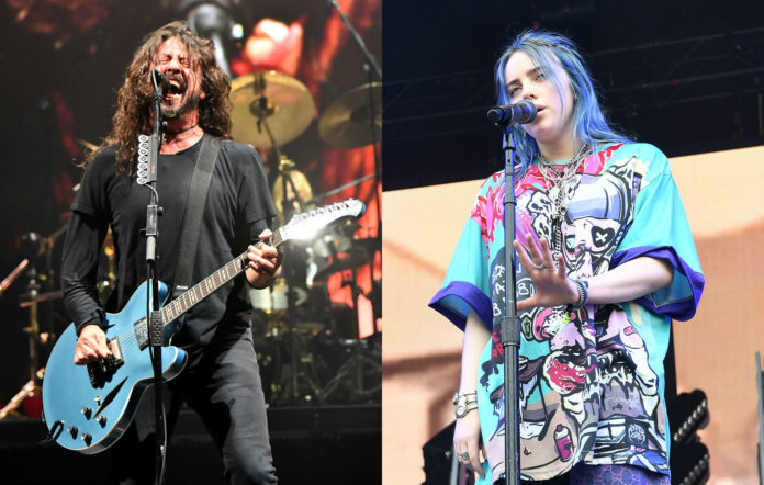Billie Eilish reacts to Dave Grohl comparing her to Nirvana