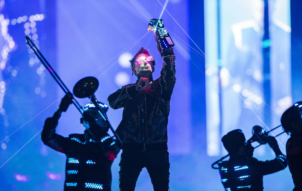 Muse's Matt Bellamy on their current 'Simulation Theory' world tour