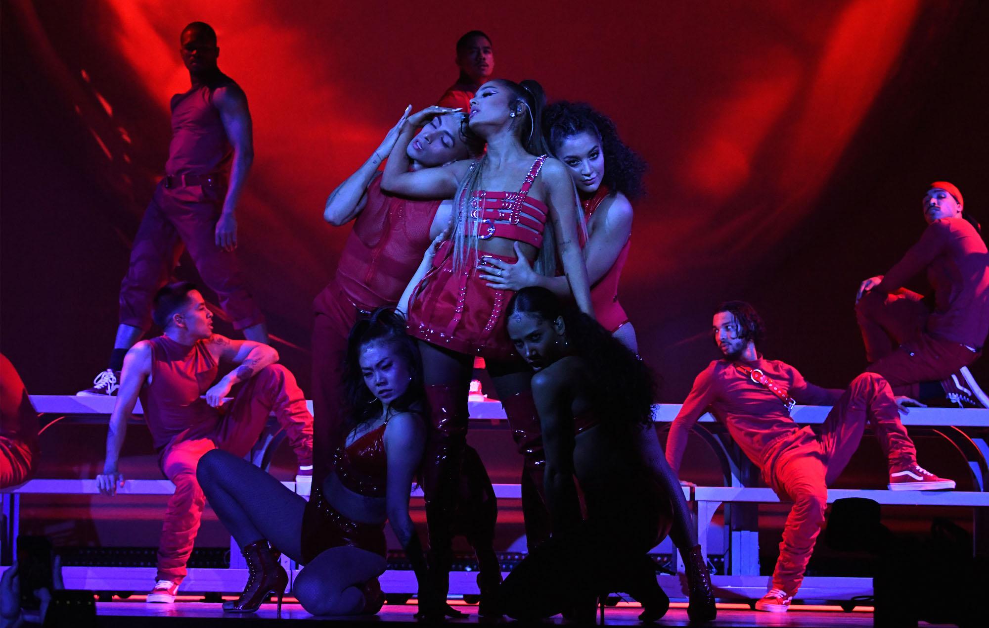 Ariana Grande Kicks Off Sweetener World Tour In New York Pictures