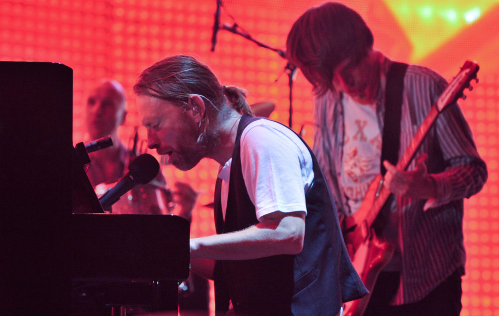 Radiohead's Thom Yorke and Johnny Greenwood
