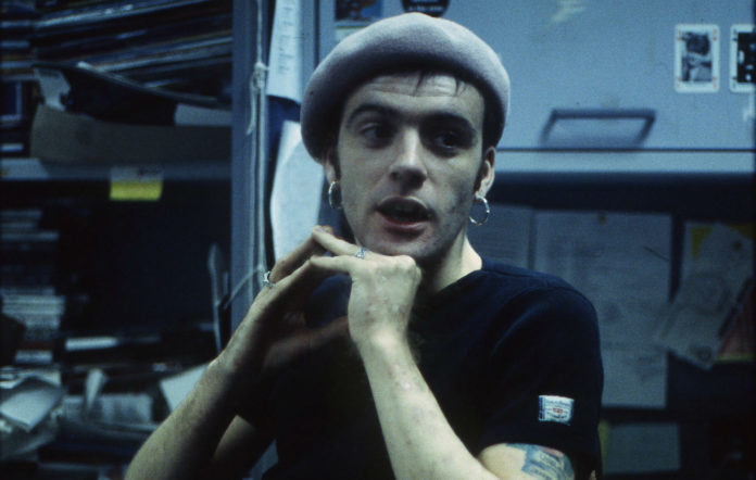 Richey Edwards in the NME Offices in