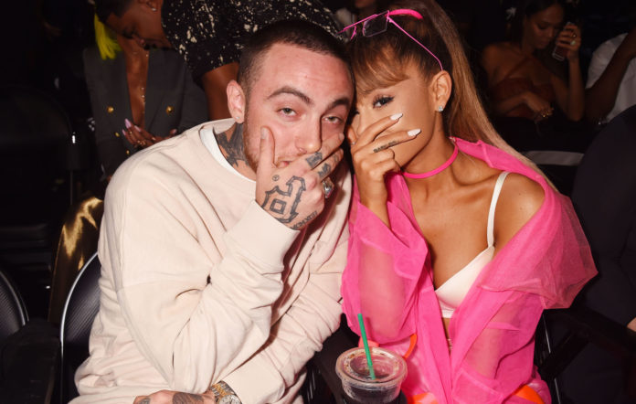 Mac Miller and ex-girlfriend Ariana Grande