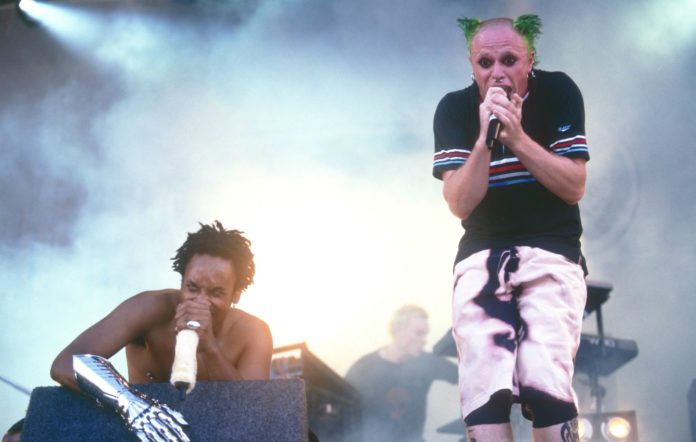 The Prodigy performing in 1996