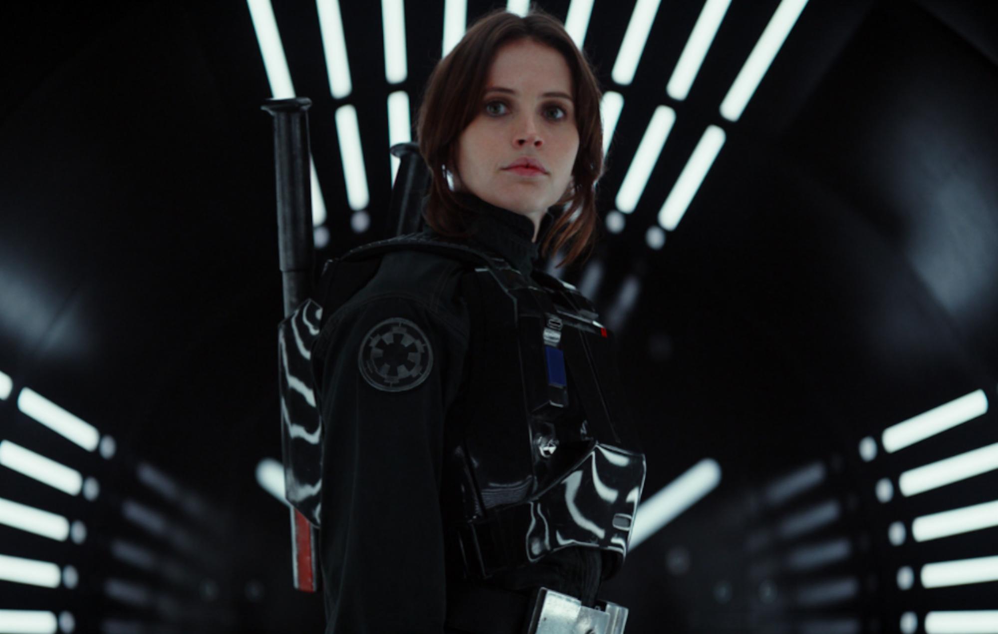 Felicity Jones in 'Rogue One'
