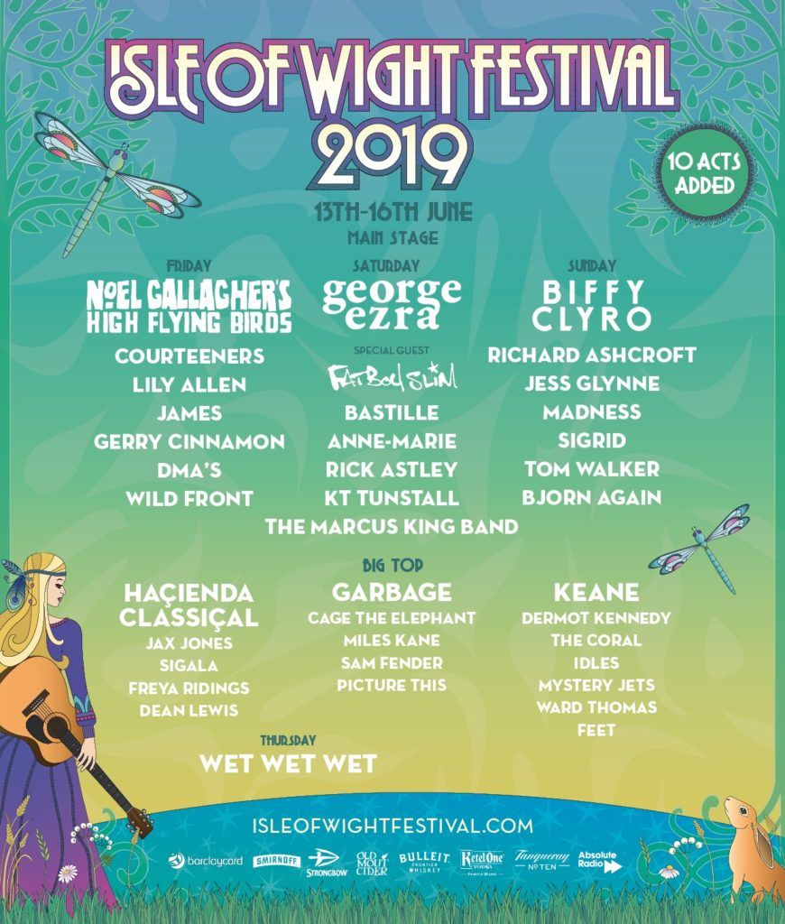 The Isle of Wight Festival 2019