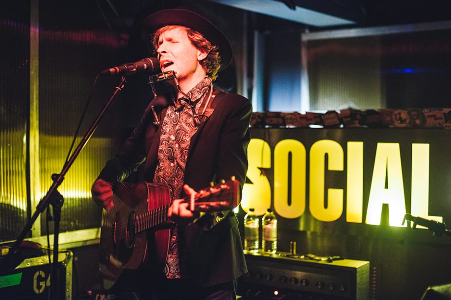 Beck, live at The Social, London