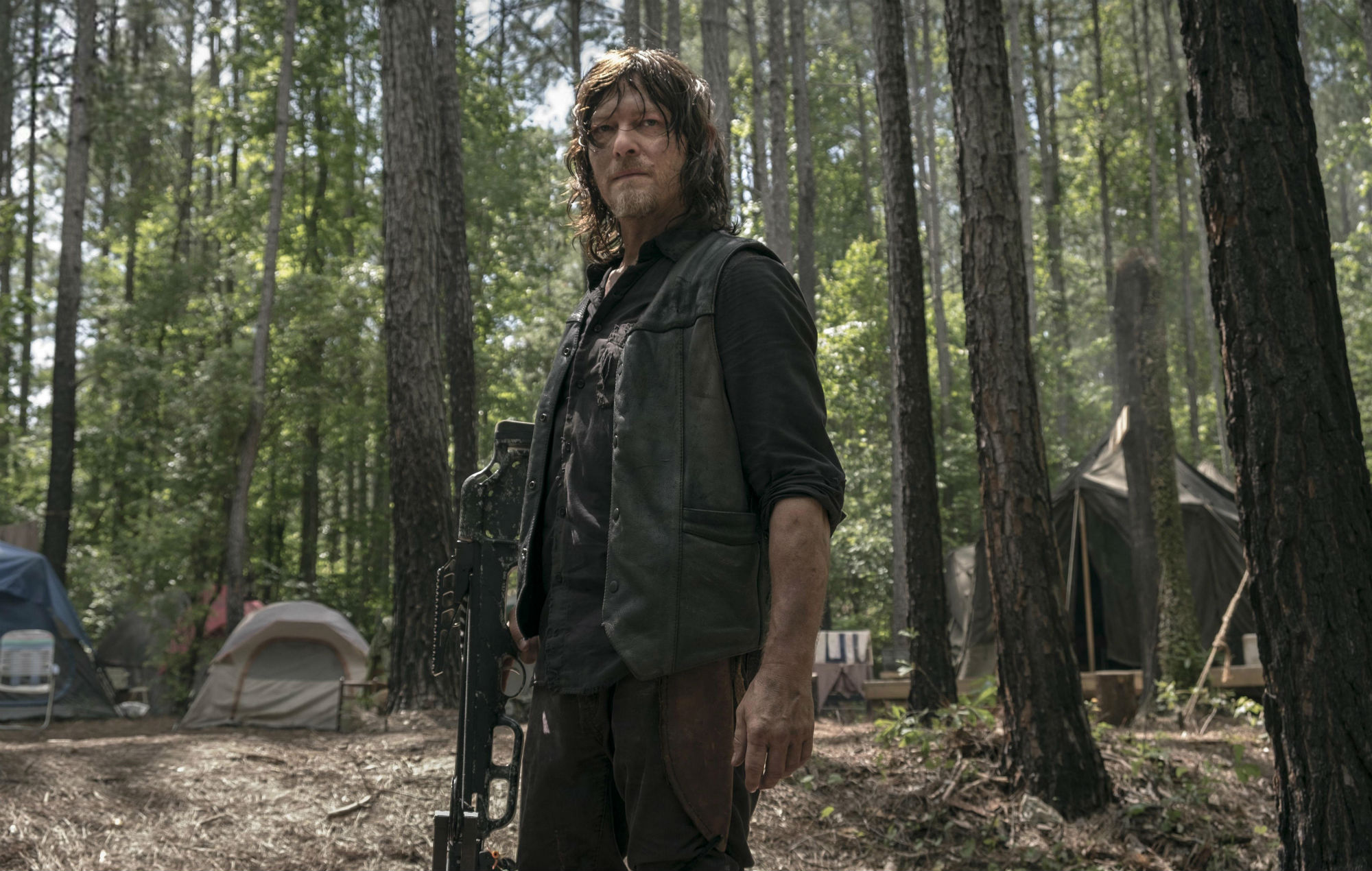 Norman Reedus as Daryl in 'The Walking Dead'