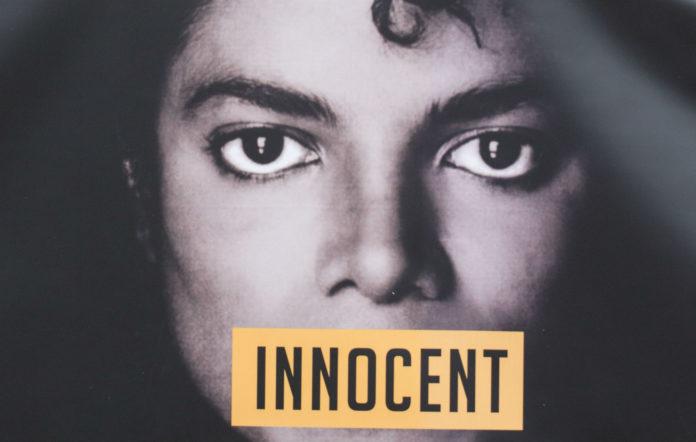 Michael Jackson 'innocent' poster
