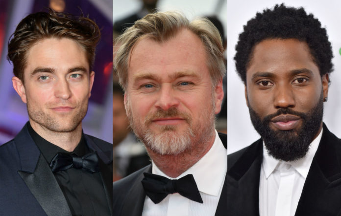 Robert Pattinson / Christopher Nolan / John David Washington