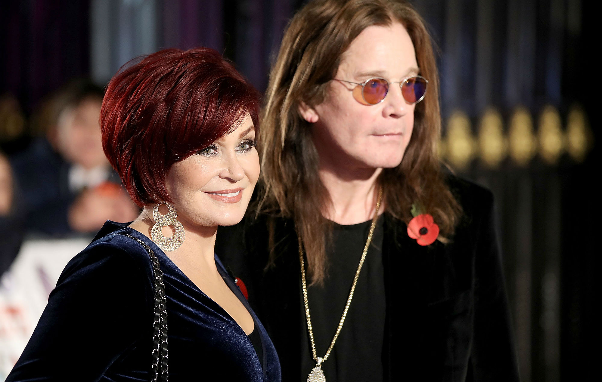 Sharon Osbourne says her 2020 goal is to produce a movie about her and Ozzy