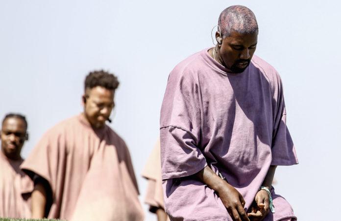 Kanye West Sunday Service Coachella