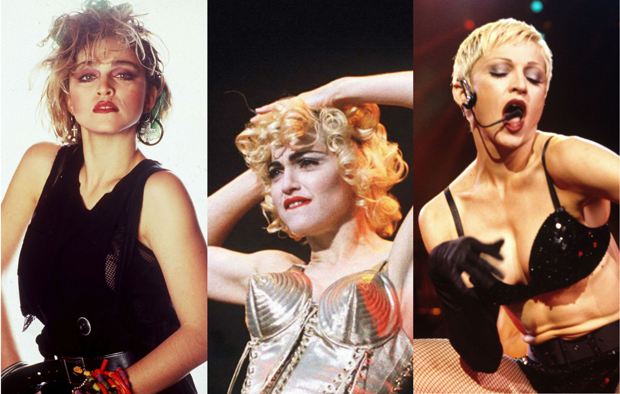 The ages of Madonna – the evolution of an icon