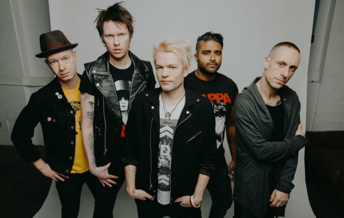 Sum 41's Deryck Whibley on hard-hitting album 'Order In
