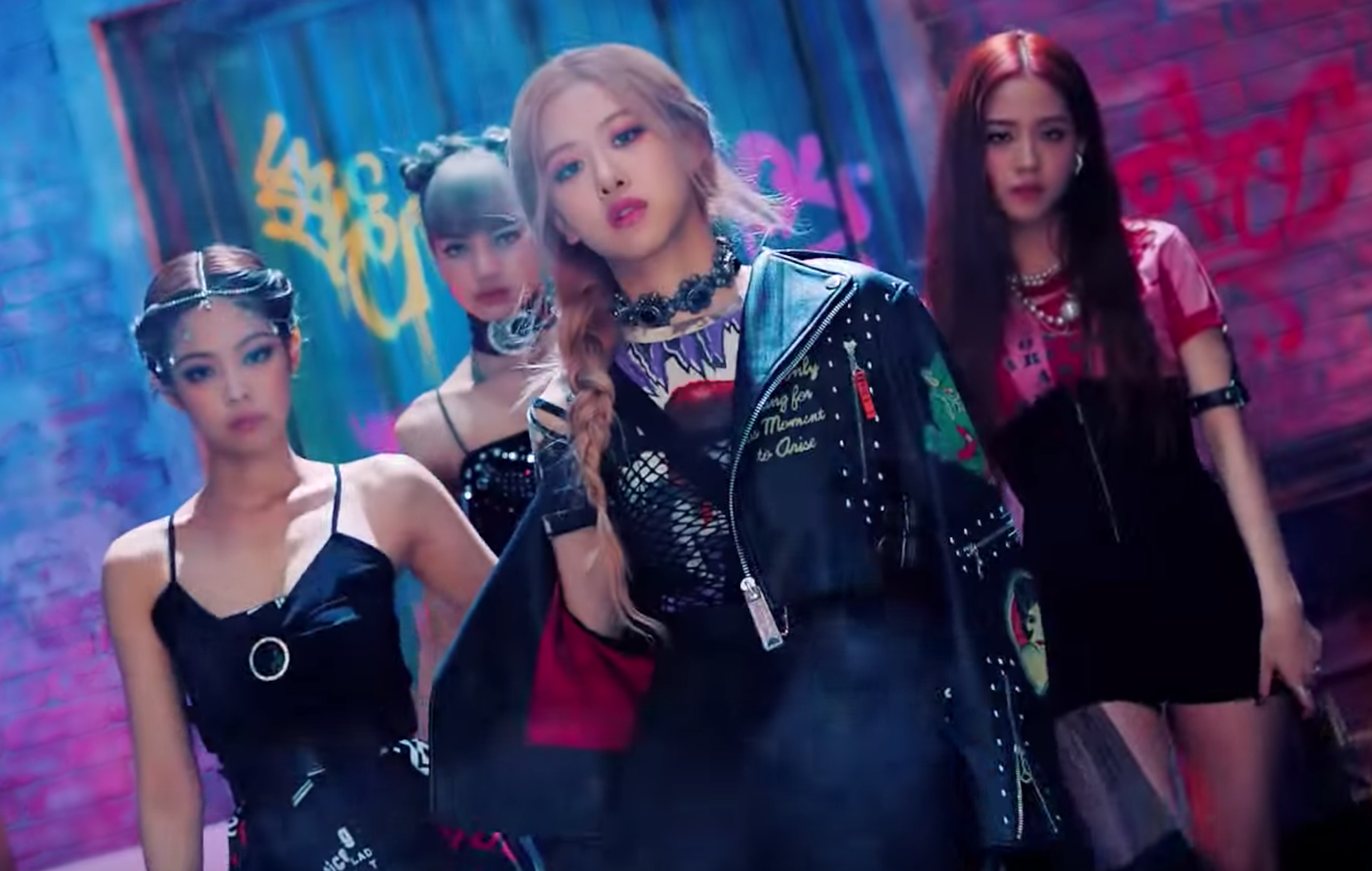 Watch BLACKPINK's powerful, cinematic video for new track 'Kill This Love'