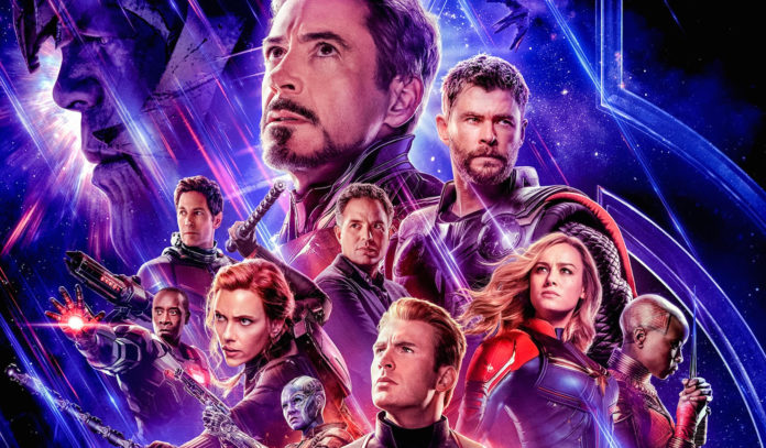T33DPT Avengers: Endgame (2019) directed by Anthony and Joe Russo, starring Bradley Cooper, Brie Larson and Chris Hemsworth. Epic conclusion and 22nd film in the Marvel Cinematic Universe