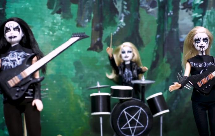 'Black Metal Barbie'