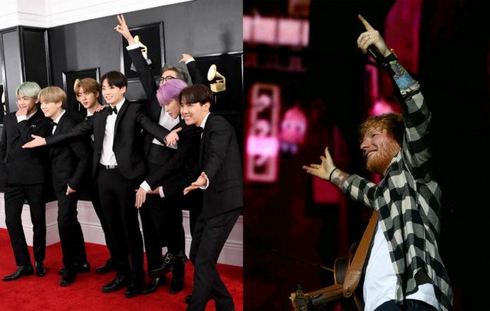 BTS / Ed Sheeran