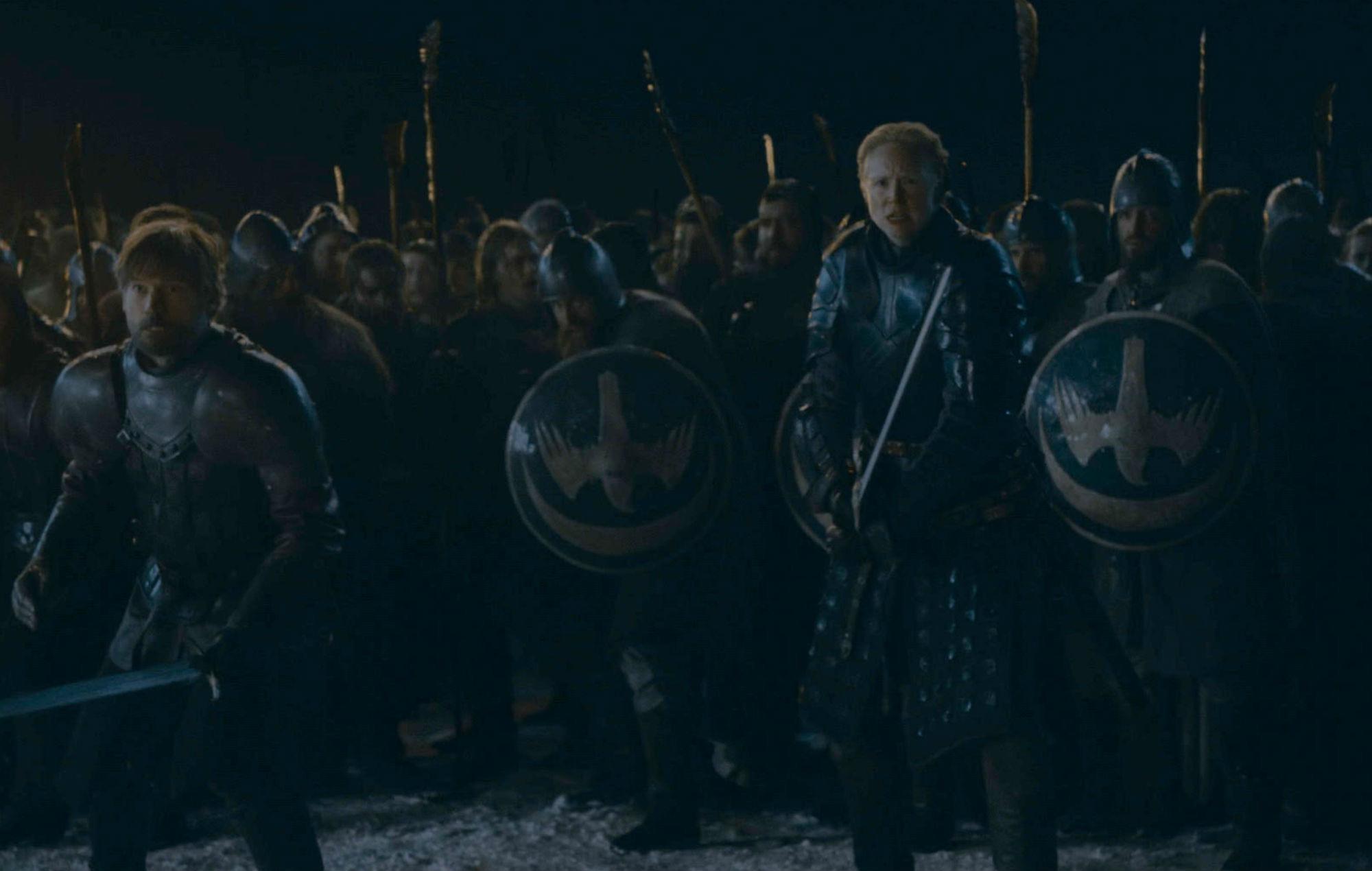 Battle of Winterfell Thrones