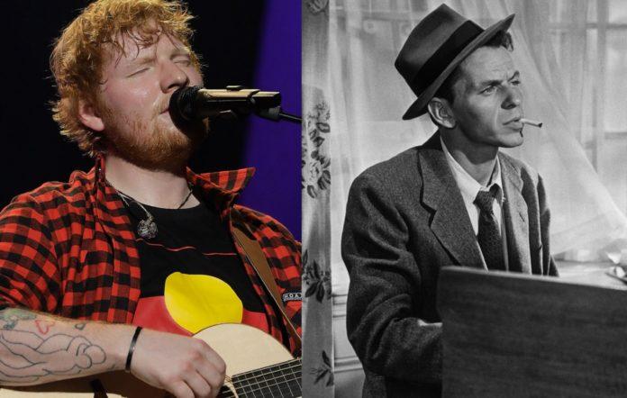 Ed Sheeran and Frank Sinatra