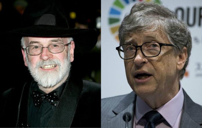 Terry Pratchett Bill Gates
