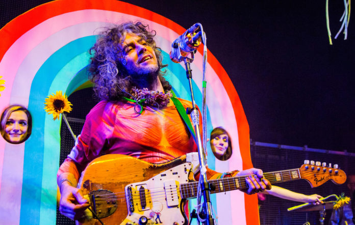 Wayne Coyne of The Flaming Lips.
