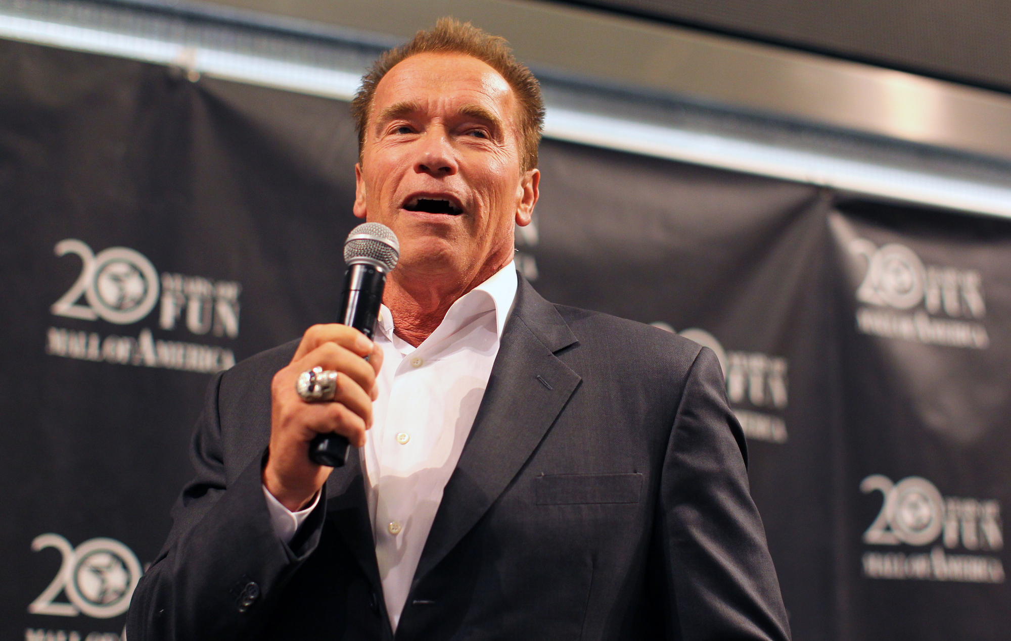 Watch Arnold Schwarzenegger Make His Rap Debut As He Lays