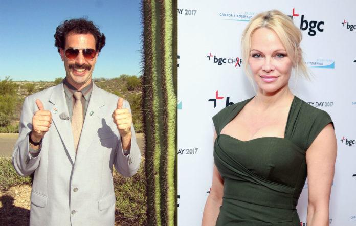 Sacha Baron Cohen as Borat / Pamela Anderson
