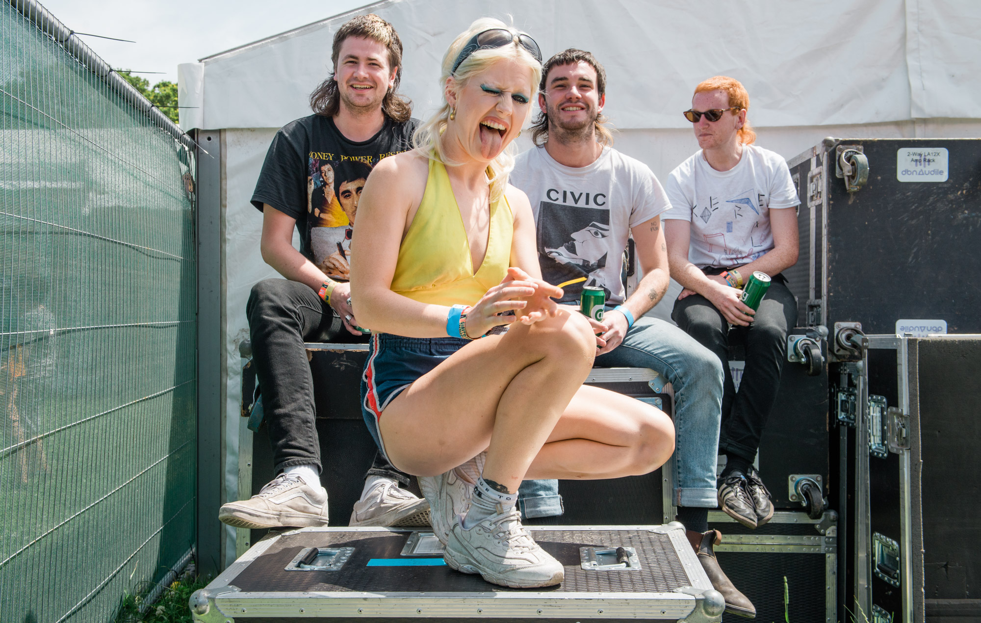 Amyl And The Sniffers Glastonbury 2019