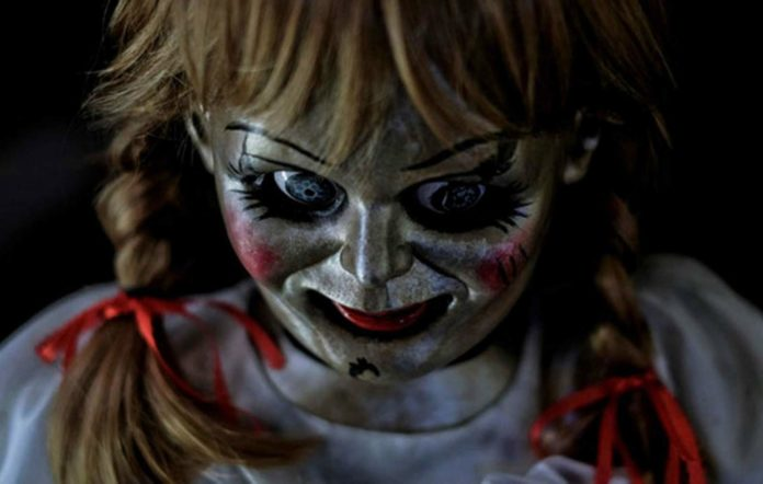 Annabelle doll from the film