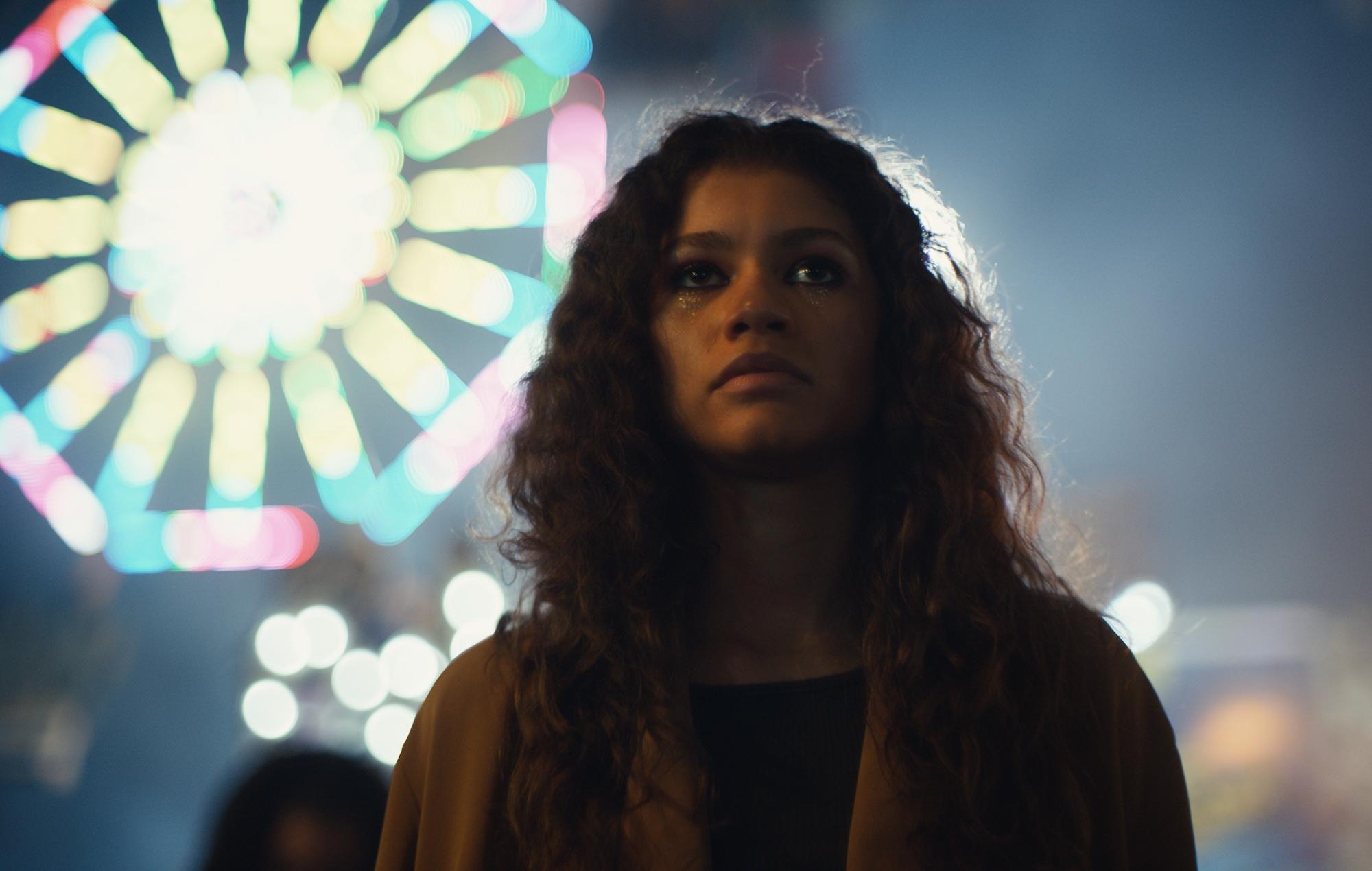 Zendaya in HBO tv series Euphoria