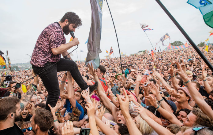 Foals Glastonbury secret set