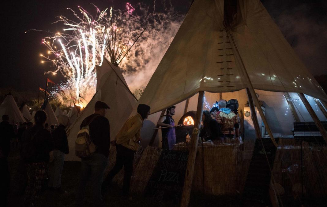 Fireworks Glastonbury 2019