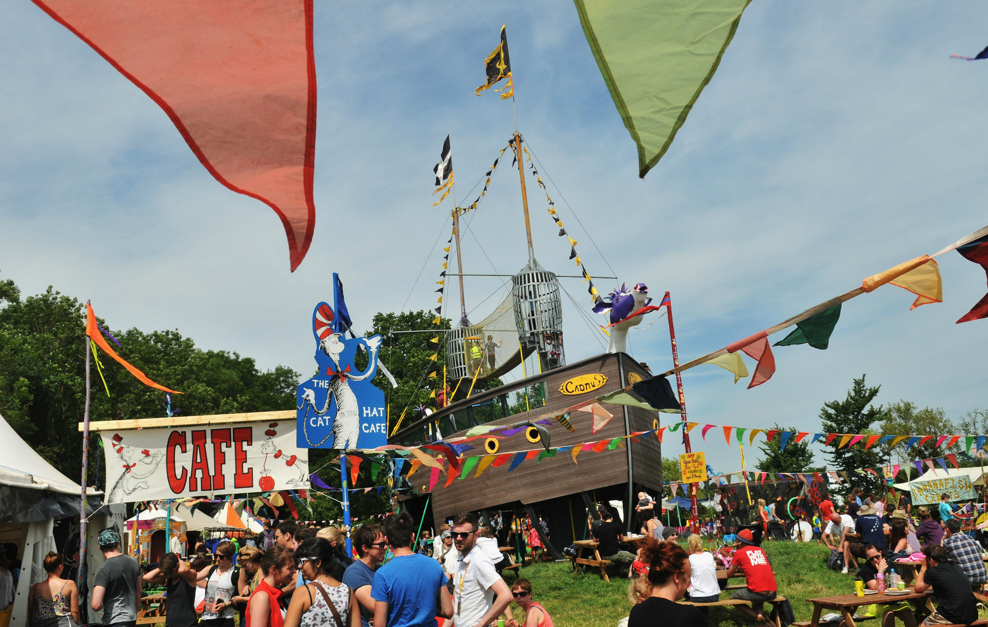 Glastonbury's Greenfields is an environmentally conscious lil haven