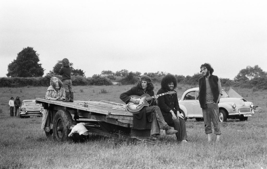 The Glastonbury Fayre of 1971, a free festival planned by Andrew Kerr and Arabella Churchill .
