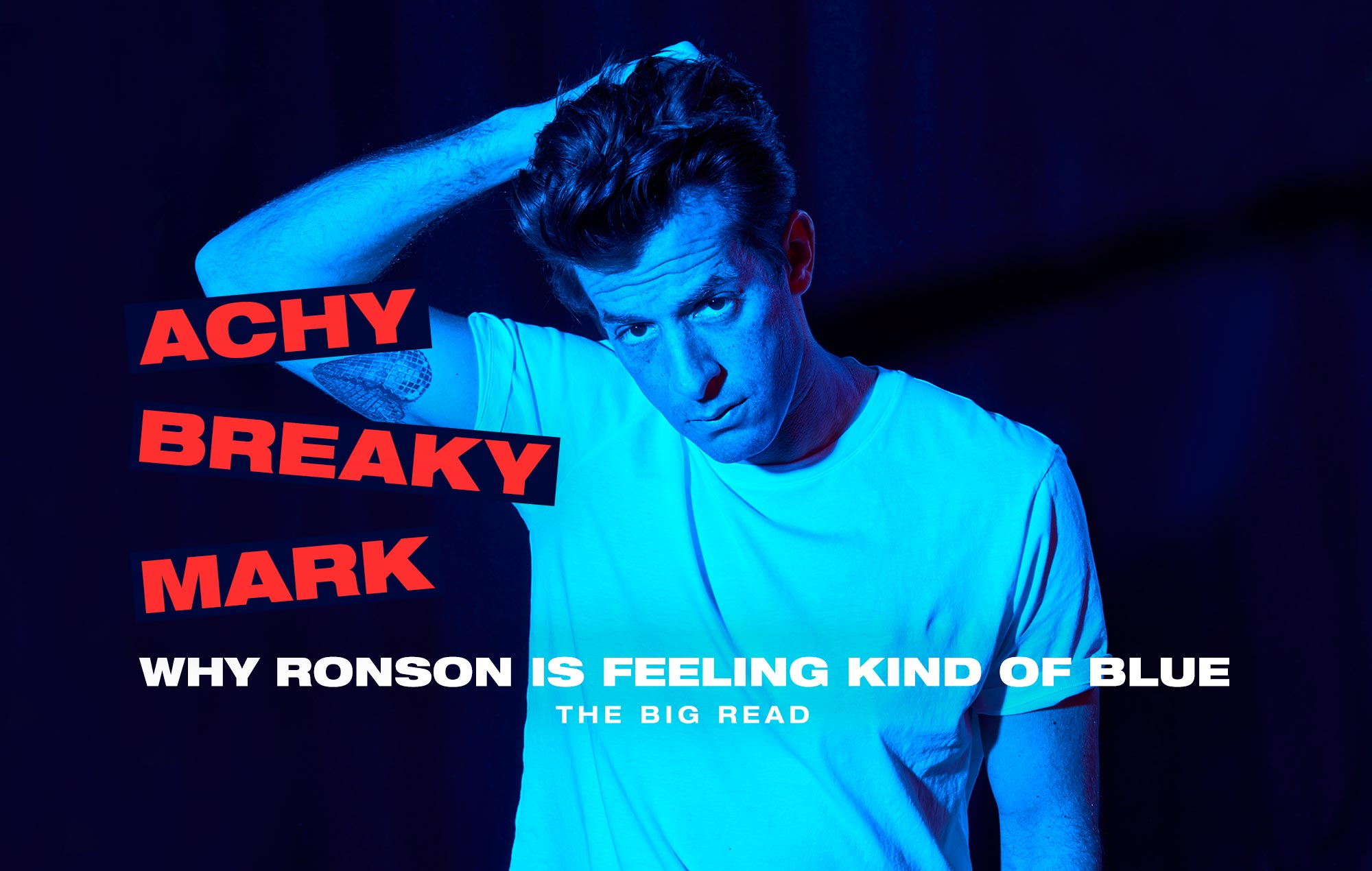 Mark Ronson NME interview
