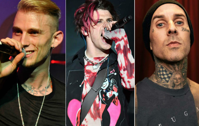 Machine Gun Kelly Travis Barker Yungblud